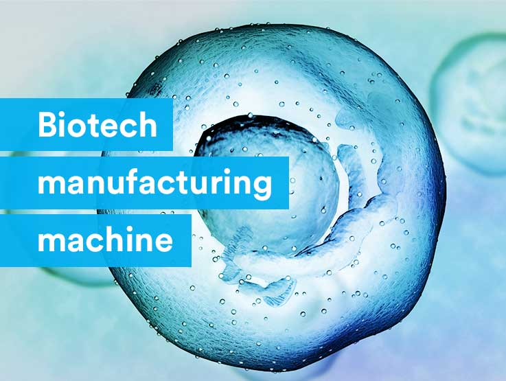 Biotech manufacturing machine