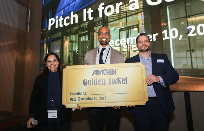 Start-up network Golden Ticket
